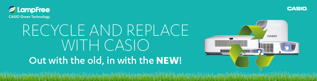 Recycle and Replace with Casio